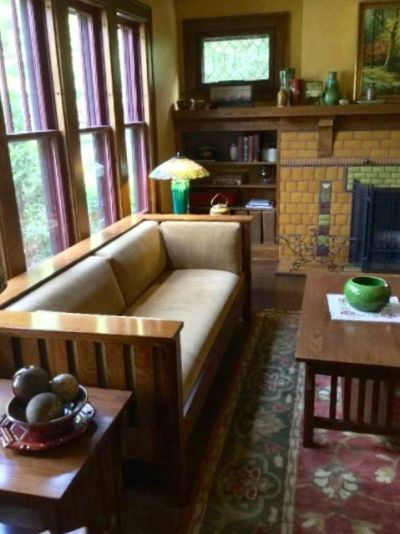Craftsman Style Living Room Furniture