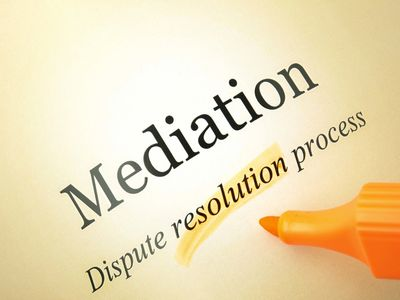 mediation, dispute resolution process, conflict resolution, mediation services