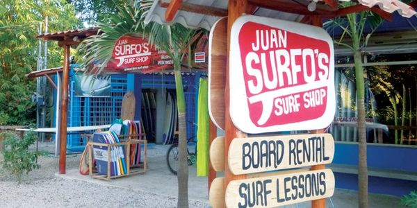 Surf Shop, Juan Surfo's, Nosara, North Guiones, Costa Rica
