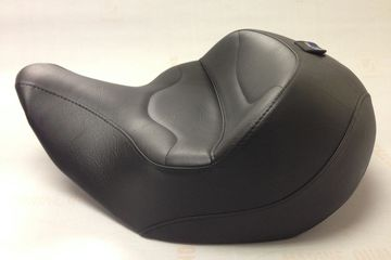 ED Motorcycle Seats Yamaha Roadliner Stratoliner standard size seat with removable backrest option