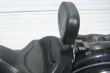 ED Motorcycle Seats Yamaha Road Star Solo backrest adjustable forward and back