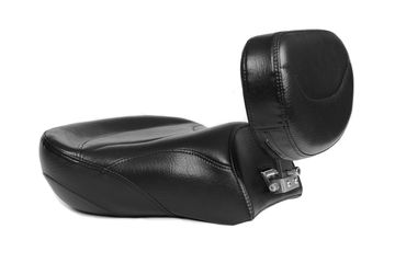 ED Motorcycle Seats Yamaha Road Star Passenger seat with backrest for the driver