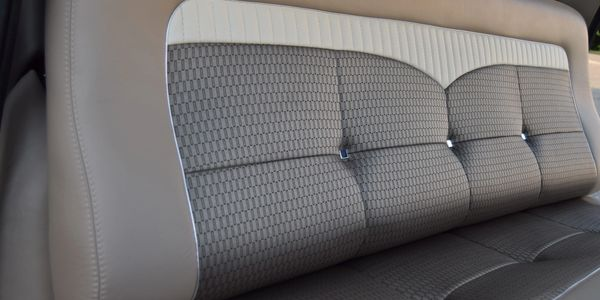 Custom Automotive Bench Seating