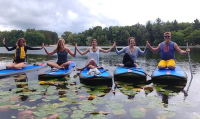 Paddleboard Yoga Goshorn lake