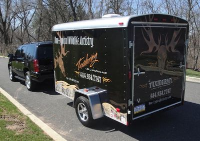 Trophy moving service available to transport your taxidermy mounts from one location to another