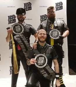 International Leather Sir, Leather boy, and International Community Bootblack 2018