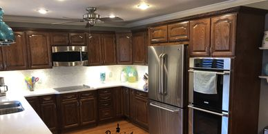 professional kitchen cabinet painting belle isle fl 32809 repaint florida llc  cabinet refinishing