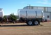 3,360 gal 2-Cpt Pup-Trailer