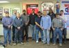 Thursday, March 1st, 2017.A great day for some Lead Hand promotions! (l-r)Michael, Ryan, Tres, Ralph, David, Timmy, Hector, Marvin, Richard, and Mike.