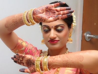 Indian wedding Hair and Makeup in Delaware, Philadelphia, New Jersey, Maryland #rslhennaandspa