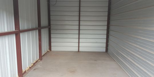 A snapshot of our 10x15 Storage Unit.