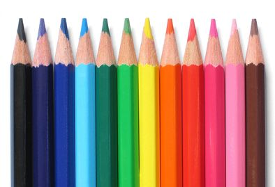 Creative Copywriting Colored Pencils photo for Copywriting Page of Elliott Image Media Production