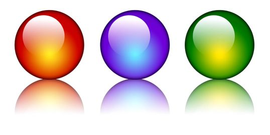 Creative Color Spheres for Graphic Design  page of Elliott Image Media Production website