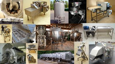 Food Processing Machine in Ahmedabad India.