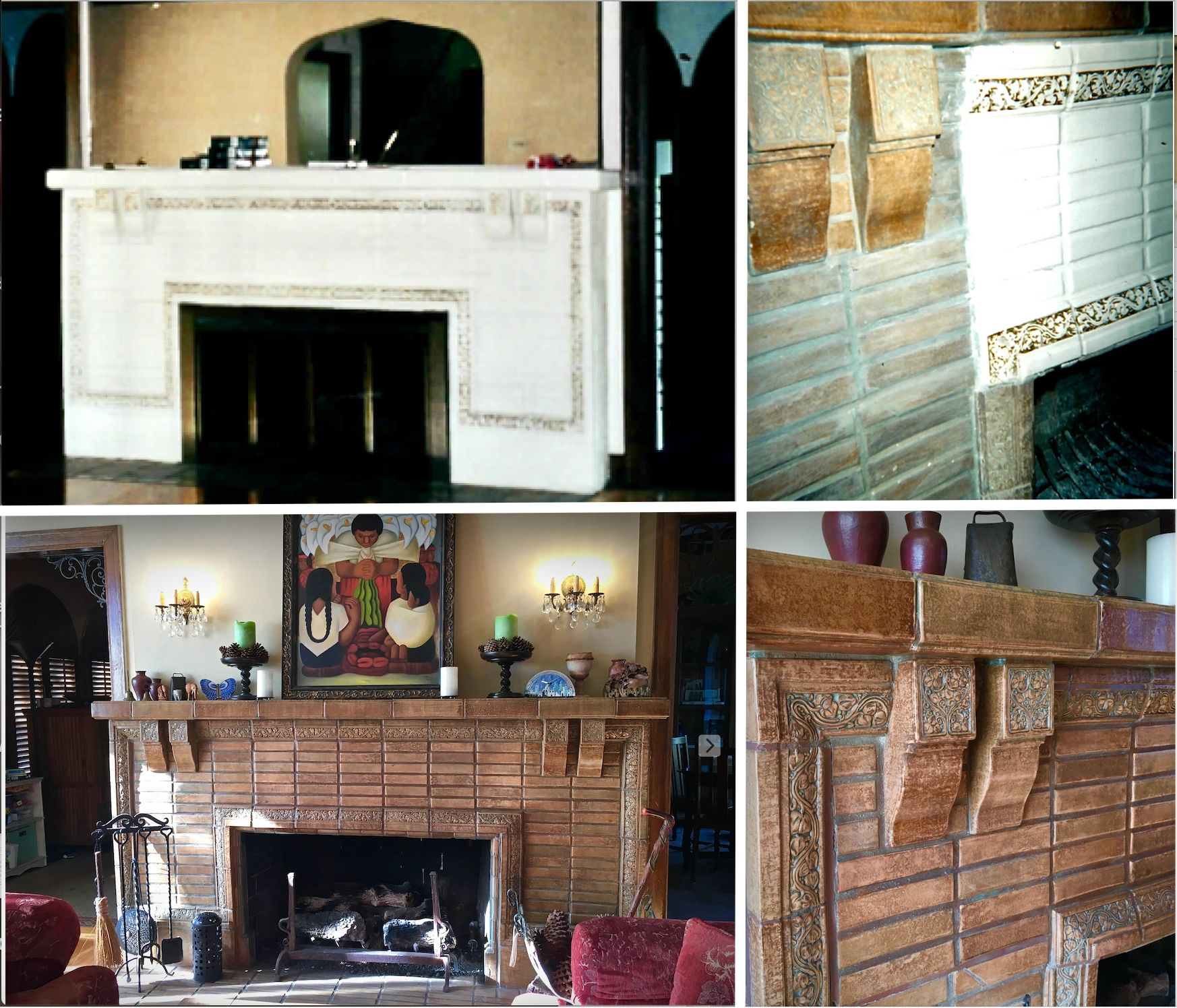 "{""blocks"":[{""key"":""b549l"",""text"":""Batchelder fireplace restoration. Stripping off 1960's paint to reveal original and rare 1920's tile.  "",""type"":""unstyled"",""depth"":0,""inlineStyleRanges"":[],""entityRanges"":[],""data"":{}},{""key"":""b2fii"",""text"":""Re-pointing  of flew and restoration of original gas lines "",""type"":""unstyled"",""depth"":0,""inlineStyleRanges"":[],""entityRanges"":[],""data"":{}}],""entityMap"":{}}"