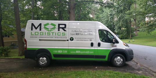 Partial wraps and vinyl lettering are a cost-effective way to advertise
