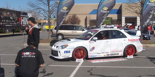 Custom subaru wrap Hot Import Nights Dulles VA