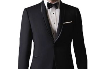 Calvin Klein Black Shawl Tuxedo (Coat and Pant) for only $150. (In Store Only)