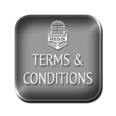 401 Book and GenpopMedia Terms and Conditions.  Terms & Conditions of Service.