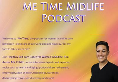 Me time Midlfe Podcast link