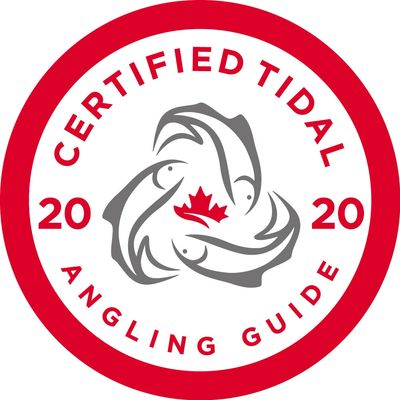 2020 Certified Tidal Angling Guide Sport Fishing Institute of British Columbia