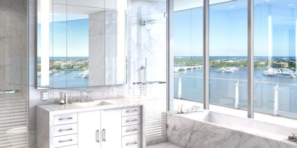 The Bristol Palm Beach, 1100 South Flagler Drive, West Palm Beach, search listings for sale, condos