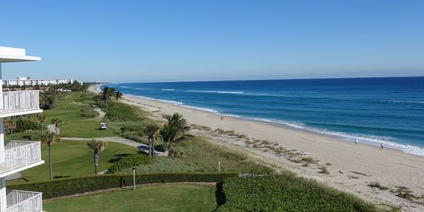 2500 Building, 2500 South Ocean Blvd, Palm Beach, condos for sale on beach, views from oceanfront condos, large balconies