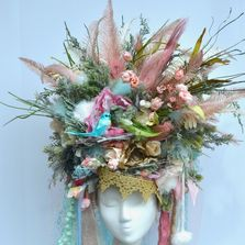 Woodland Crown, Fairy, Photography Prop, Marie Antionette, Headpiece,  Flower Crown, Headdress