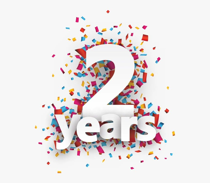 We Are Celebrating Our 2nd Anniversary