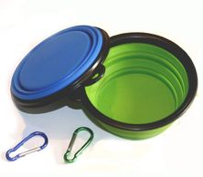 Collapsible Dog Bowl, Foldable Expandable Cup Dish for Pet Cat  Feeding Portable Travel Bowl