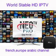 Android tv box x96 mini arabic europe iptv code smart streaming tv player IPTV subcription hd265 m3u