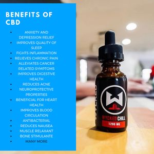 CBD oil has numerous benefits. Reduced anxiety, stress relief, muscle relaxer, improved sleep
