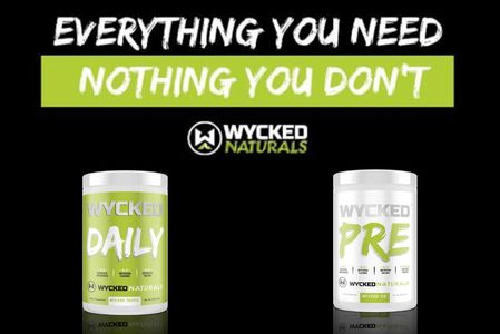 Best preworkout and daily super foods green blend by Wycked Naturals