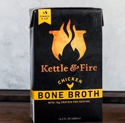 Made with bones from grass-fed beef or pasture raised chickens. Hormone and antibiotic-free.