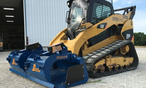 Demo Dozer Grapple Bucket
