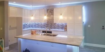 LED under cabinet lighting customized by us.