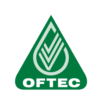 The OFTEC logo in white and green.