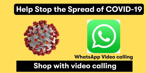 Limit the COVID-9 use whatsapp video calling feature