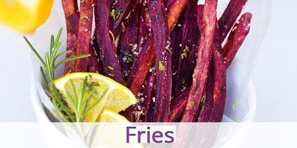 Blue Sky Farms of Florida Purple Sweet Potato Fries