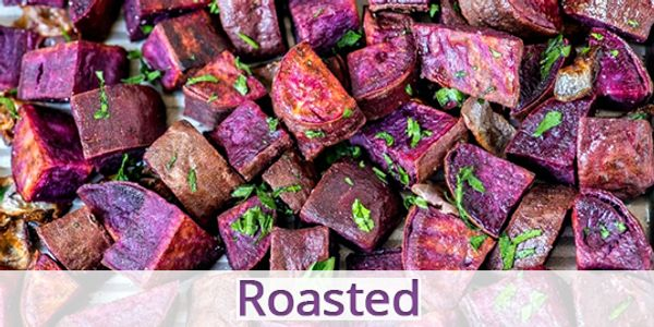 Blue Sky Farms of Florida Roasted Purple Sweet Potato