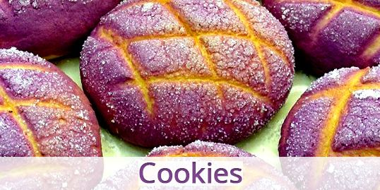 Blue Sky Farms of Florida Purple Sweet Potato Cookies