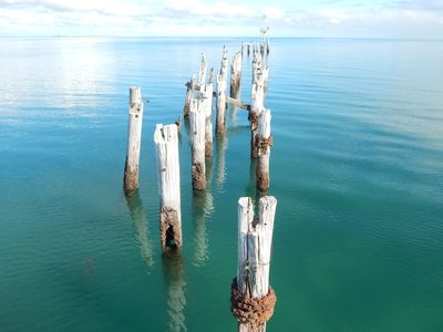 Ocean, sea, jetty, wharf