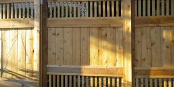 Custom wood fence in Austin with custom wood gate. We are expert wood fence installers .