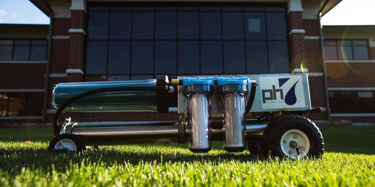 Pic of the ph7 pure water systems that we designed and sell to other window cleaners