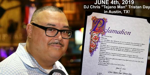 Tejano Austinite Honored with proclamation after decades of Tejano Music ties.