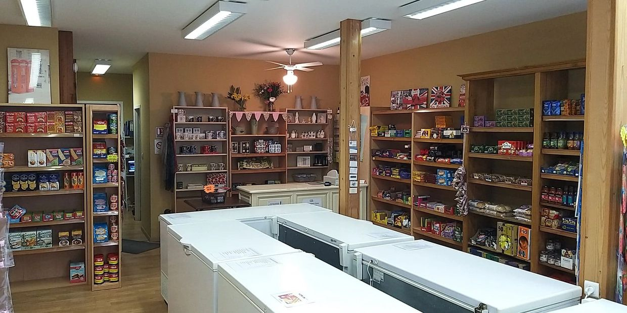 A photo of the shop's inside.