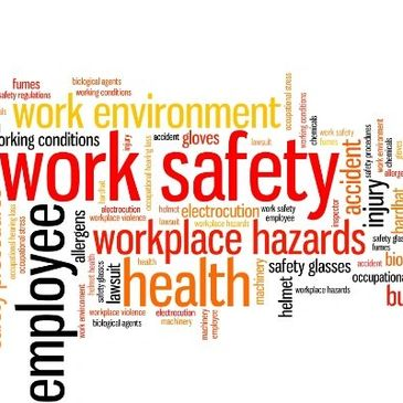 work safety workplace hazards enviroment health and safety ppe accident working conditions