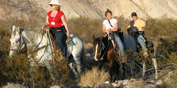 Horseback riding in las vegas