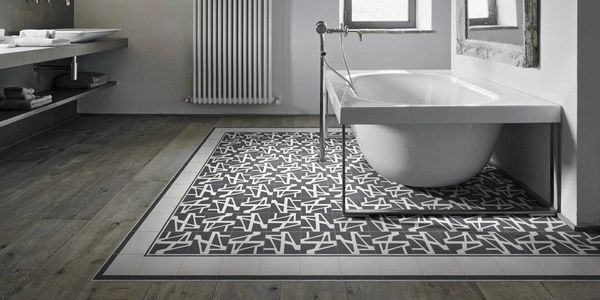 Just about all  non slip tile can be displayed on the floor of the bathroom and even in the shower