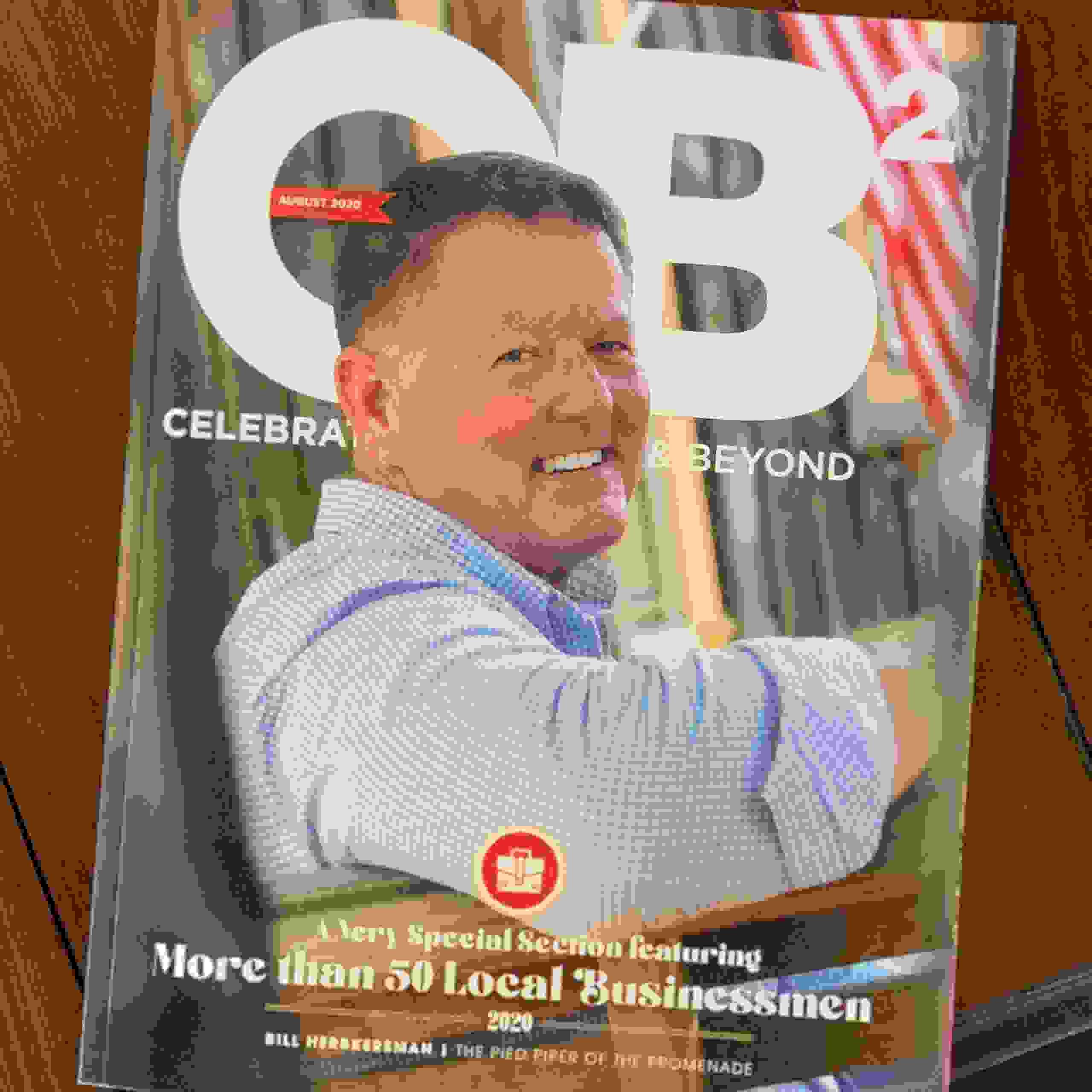 Rep. Bill Herbkersman, a Republican from Beaufort County, SC represents District 118 on cover of CH2